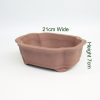 8 Inch Unglazed Bonsai Pot Number 5 available to buy online from All Things Bonsai Sheffield Yorkshire with free UK delivery