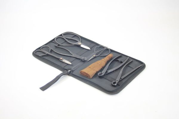 7 Piece Bonsai Tool Kit available to buy online from All Things Bonsai Sheffield Yorkshire with free UK Delivery
