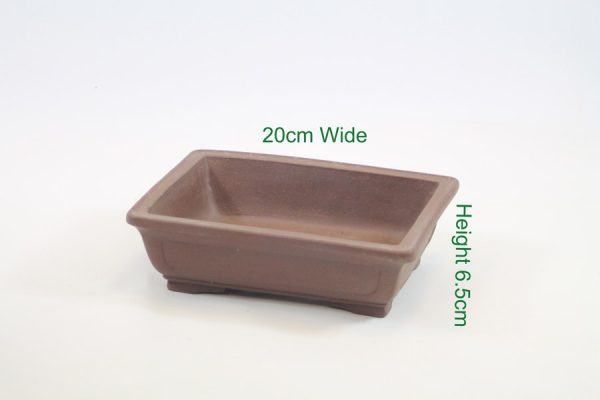 Bonsai tree high quality unglazed pot available online from All Things Bonsai Sheffield Yorkshire