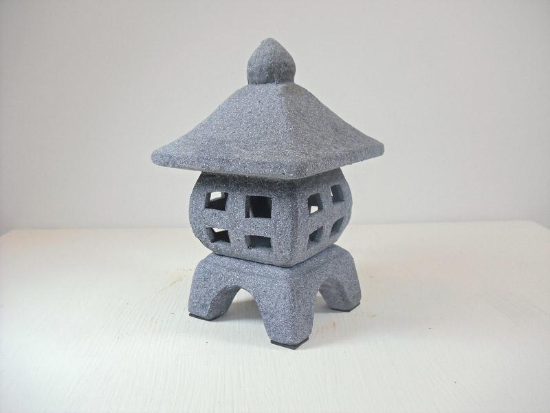 Garden Lantern Ceramic Oriental Small, Oriental Stone Garden Lanterns
