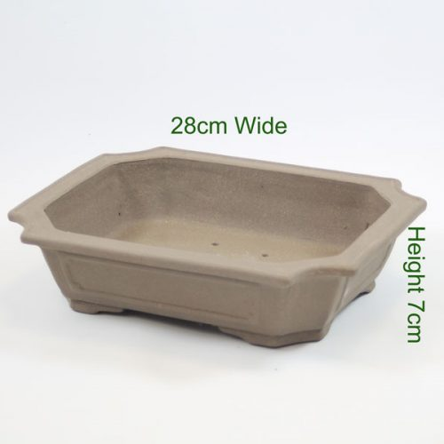 Bonsai Tree Pot unglazed available to buy online from All Things Bonsai Sheffield Yorkshire free UK delivery