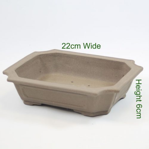 High Quality Unglazed Bonsai Tree Pot available to buy online from All Things Bonsai Sheffield Yorkshire with free UK delivery