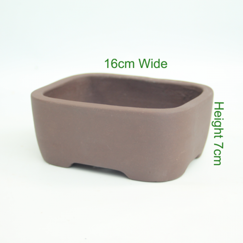 Unglazed Bonsai Tree Pot available to buy online from All Things Bonsai Sheffield Yorkshire with free UK delivery