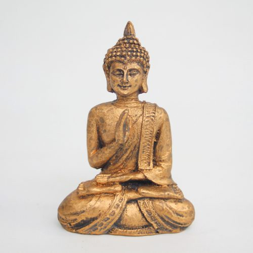 Small Golden Buddha available on buy online from All Things Bonsai Sheffield Yorkshire with free UK delivery