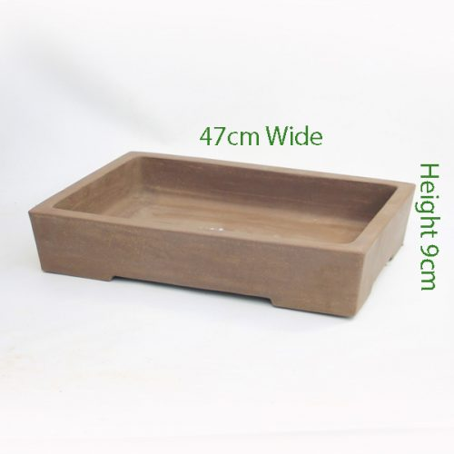 Unglazed Bonsai Pot Code C9large available to buy online from All Things Bonsai Sheffield Yorkshire with free UK delivery