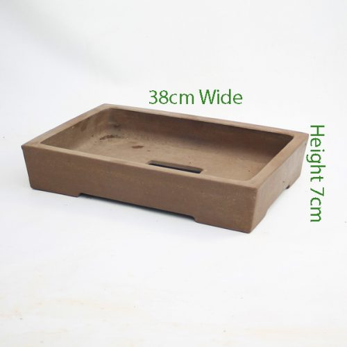 Unglazed Bonsai Pot Code C9small available to buy online from All Things Bonsai Sheffield Yorkshire with free UK delivery