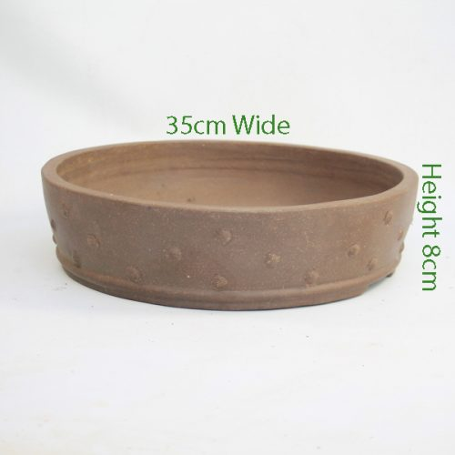 Unglazed Bonsai Pot Code C114 available to buy online from All Things Bonsai Sheffield Yorkshire with free UK delivery