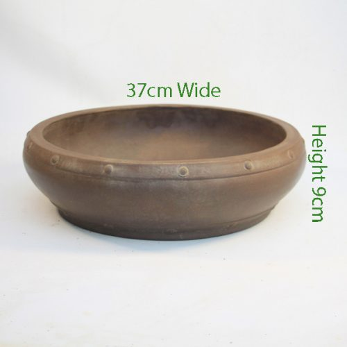 Unglazed Bonsai Pot Code C74 available to buy online from All Things Bonsai Sheffield Yorkshire with free UK delivery