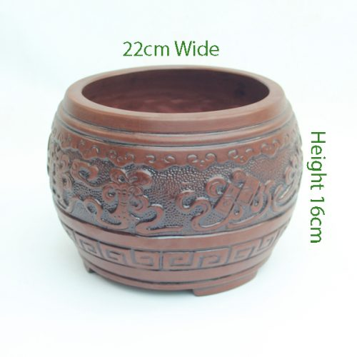 Cascade Bonsai Pot code Z5 available to buy online from All Things Bonsai Sheffield Yorkshire with free UK delivery