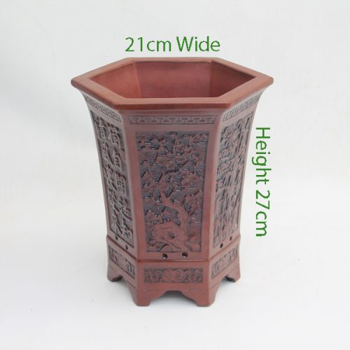 Cascade Bonsai Pot code Z6 Small available to buy online from All Things Bonsai Sheffield Yorkshire with free UK delivery