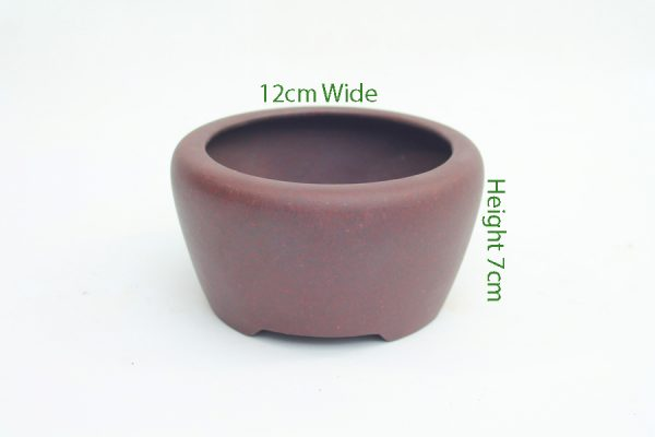 Unglazed Bonsai Pot code SH10 available to buy online from All Things Bonsai Sheffield Yorkshire with free UK delivery