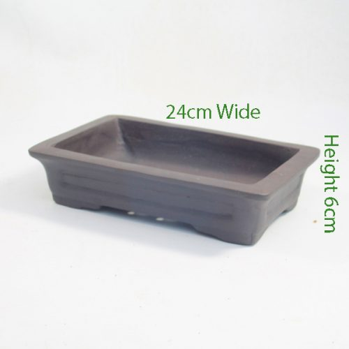 Unglazed Bonsai Pot code 87799 available to buy online from All Things Bonsai Sheffield Yorkshire with free UK delivery