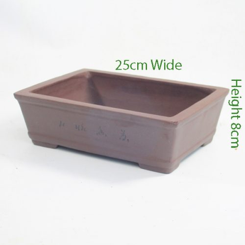 Unglazed Bonsai Pot code 87797 available to buy online from All Things Bonsai Sheffield Yorkshire with free UK delivery