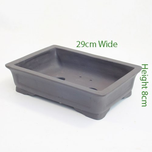 Unglazed Bonsai Pot code 87798 available to buy online from All Things Bonsai Sheffield Yorkshire with free UK delivery