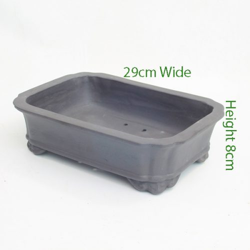 Unglazed Bonsai Pot Code 87699 available to buy online from All Things Bonsai Sheffield Yorkshire with free UK delivery