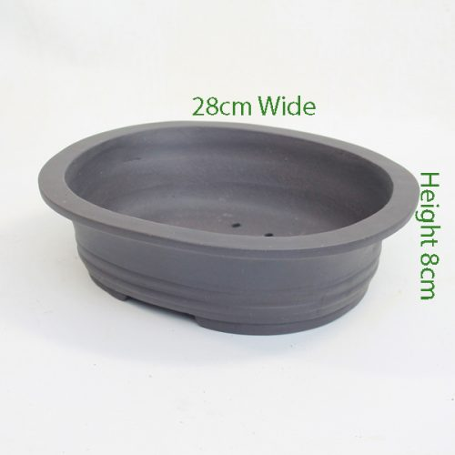 Unglazed Bonsai Pot Code 87869 Large available to buy online from All Things Bonsai Sheffield Yorkshire with free UK delivery