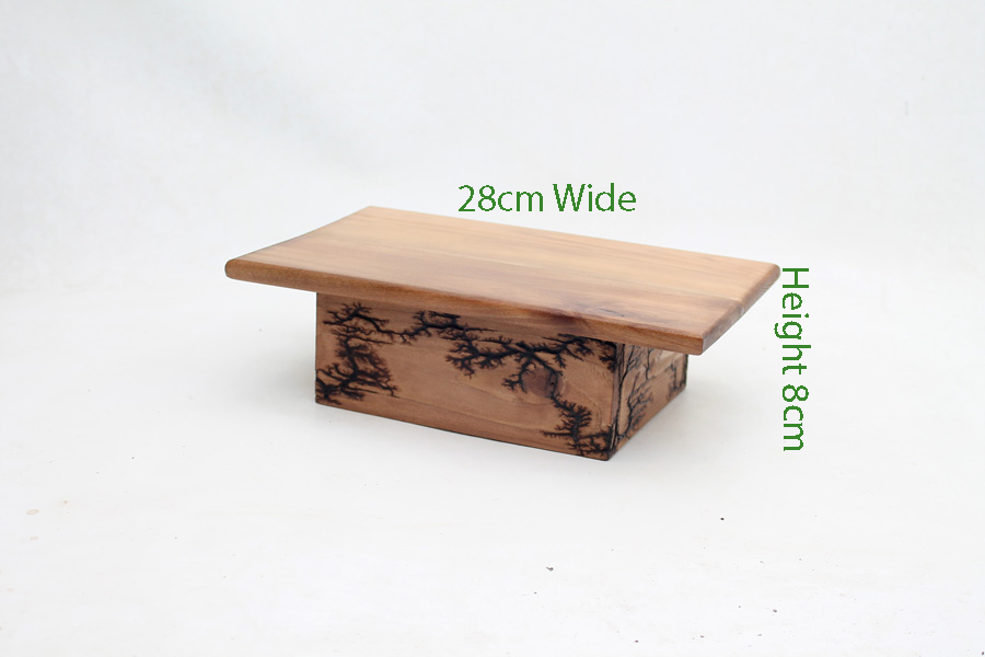 Bonsai Display Stand Hand Made With Fractal Burning Code W2 All Things Bonsai