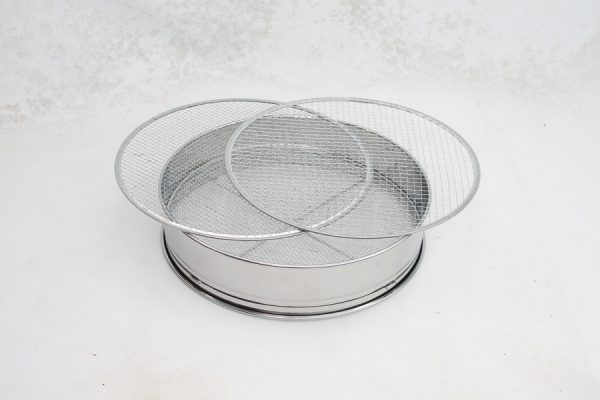 Bonsai Soil Sieve Set 30cm Stainless available to buy online from All Things Bonsai Sheffield Yorkshire with free UK delivery