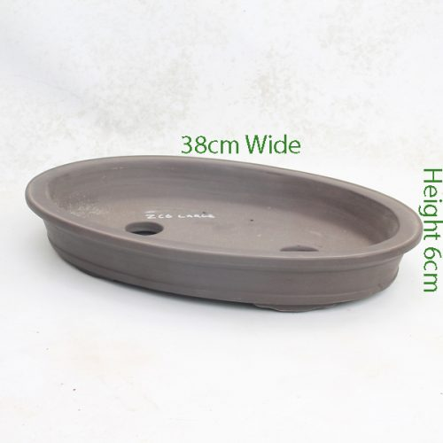 Unglazed Bonsai Pot Code ZC6 Small available to buy online from All Things Bonsai Sheffield Yorkshire with free UK delivery