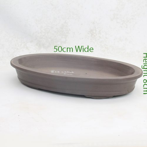 Unglazed Bonsai Pot Code ZC6 Large available to buy online from All Things Bonsai Sheffield Yorkshire with free UK delivery