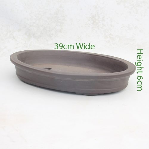 Unglazed Bonsai Pot Code ZC7 Small available to buy online from All Things Bonsai Sheffield Yorkshire with free UK delivery