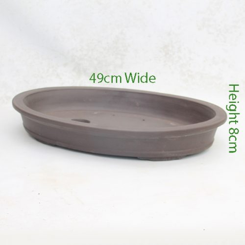 Unglazed Bonsai Pot Code ZC7 Large available to buy online from All Things Bonsai Sheffield Yorkshire with free UK delivery