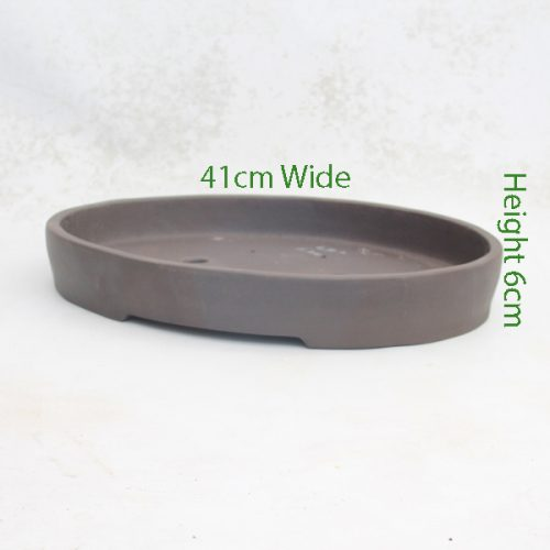 Unglazed Bonsai Pot Code L11 Large available to buy online from All Things Bonsai Sheffield Yorkshire with free UK delivery