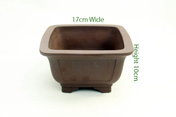 Cascade Bonsai Pot code SH33 available to buy online from All Things Bonsai Sheffield Yorkshire with free UK delivery