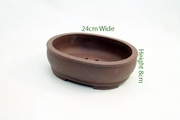 Unglazed Bonsai Pot code PE024 Small available to buy online from All Things Bonsai Sheffield Yorkshire with free UK delivery