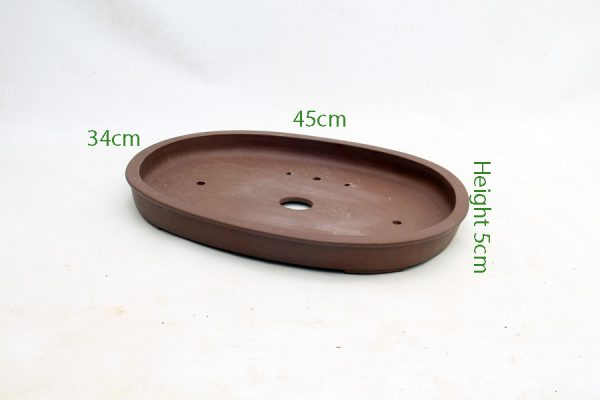 Unglazed Bonsai Pot code PB030 Small available to buy online from All Things Bonsai Sheffield Yorkshire with free UK delivery