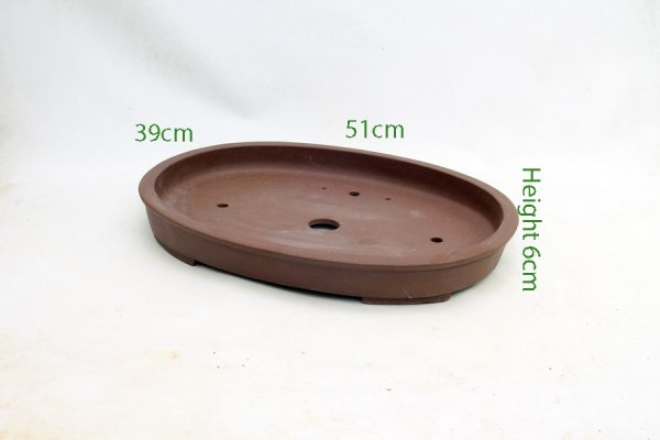 Unglazed Bonsai Pot code PB030 Medium available to buy online from All Things Bonsai Sheffield Yorkshire with free UK delivery