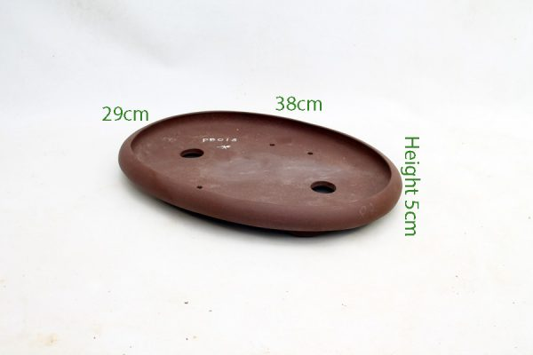Unglazed Bonsai Pot code PB018 available to buy online from All Things Bonsai Sheffield Yorkshire with free UK delivery