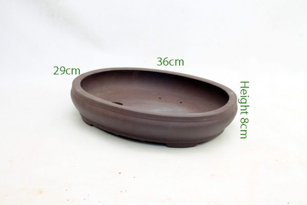 Unglazed Bonsai Pot code PB006 Small available to buy online from All Things Bonsai Sheffield Yorkshire with free UK delivery