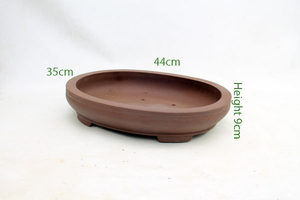 Unglazed Bonsai Pot code PB006 Large available to buy online from All Things Bonsai Sheffield Yorkshire with free UK delivery